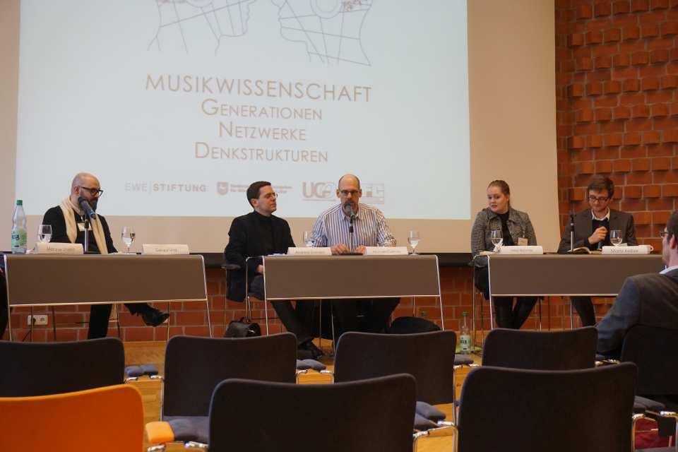 Podiumsdiskussion in Oldenburg, Jänner 2015